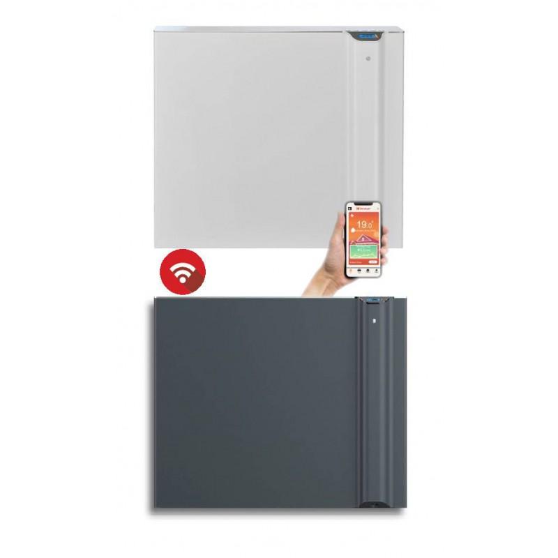 KLIMA 7 Wi-Fi biała lub szara - 750W grzejnik elektryczny energooszczędny