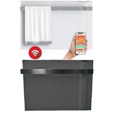 KLIMA 7 Wi-Fi z relingiem biała lub szara - 750W grzejnik elektryczny energooszczędny z wbudowanym modułem Wi-Fi