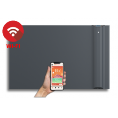KLIMA 10 Wi-Fi szara - 1000W grzejnik elektryczny energooszczędny
