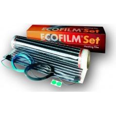 Ecofilm SET – gotowa do instalacji folia grzewcza 80W/m2 o szerokości 100 cm