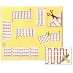 Novli zestaw 2 - Mata grzewcza NVMGW + termostat dotykowy programowalny - 9 m2 - 150 W/m2