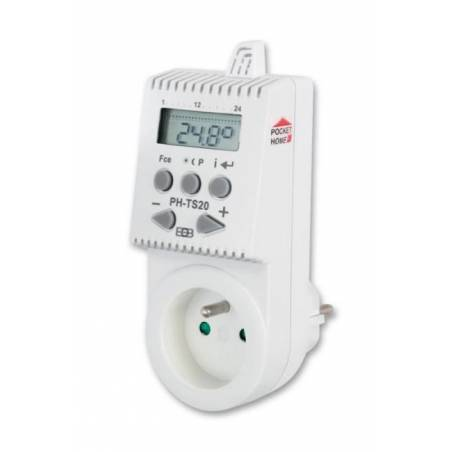 Bezprzewodowy termostat gniazdkowy PH-TS20 - inteligentny dom