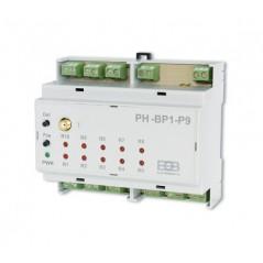 9-kanałowy odbiornik podłogowego ogrzewania wodnego PH-BP1-P9 - inteligentny dom