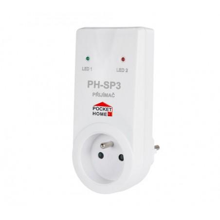 Odbiornik gniazdkowy PH-SP3 do PH-BSP - inteligentny dom