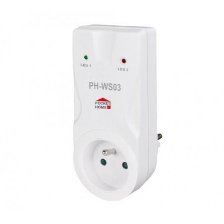 Odbiornik gniazdkowy PH-WS03 do PH-WS10