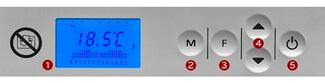 Termostat elektroniczny konwektora sirio