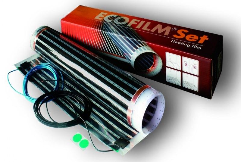 Ecofilm SET - podłogowe ogrzewanie elektryczne - folia grzejna na podczerwień