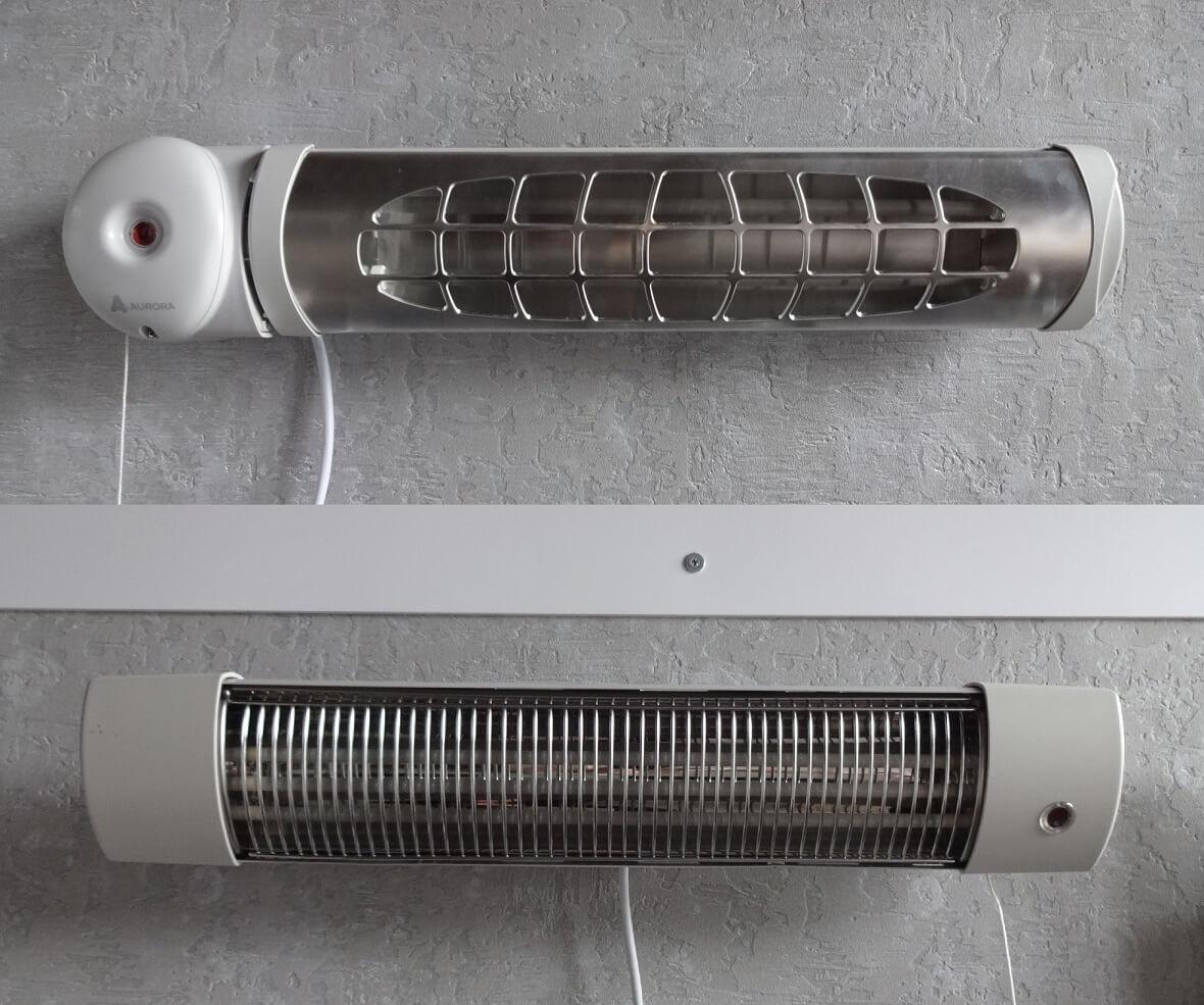 Łazienkowy grzejniki elektryczny na podczerwień - Qh3015 oraz Solarium 1800