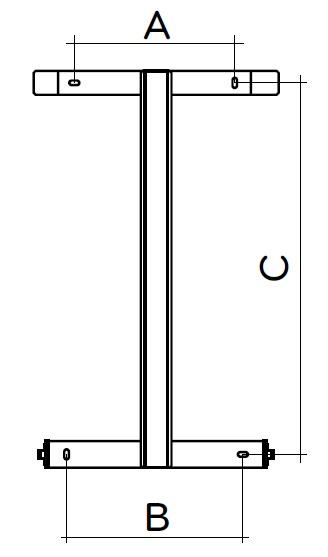 Stelaż do grzejnika elektrycznego Icon