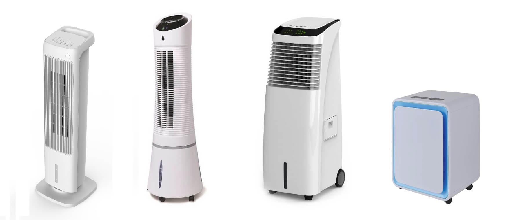 klimatyzery, wentylatory oraz osuszacze powietrza