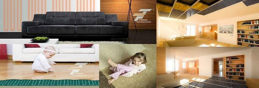 Elektryczne ogrzewanie podłogowe, ścienne i sufitowe