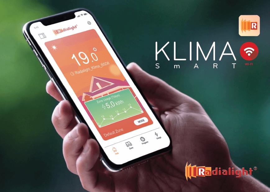 Klima Wi-Fi app