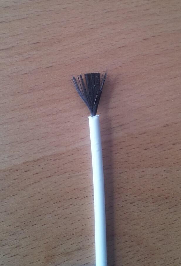 kabel z włókna węglowego używany w matach grzewczych THERMAL TECHNOLOGY
