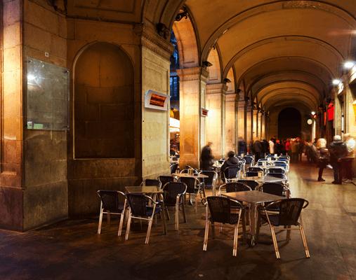 Promiennik ciepła OASI do restauracji, pubów i barów