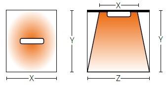 Montaż sufitowy bądź ścienny promiennika podczerwieni - vlrw15